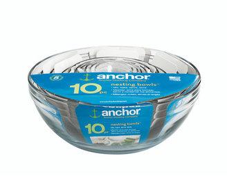Anchor Hocking 10 Piece Mixing Bowl Set