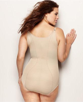 Maidenform Plus Size Firm Control Wear Your Own Bra Open Bust Body Shaper 12657