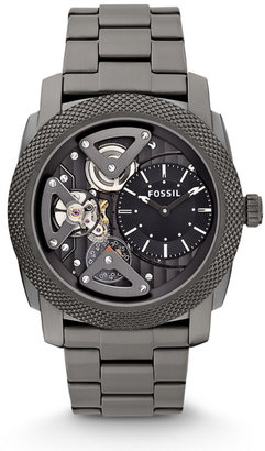 Fossil Machine Twist Stainless Steel Watch – Smoke