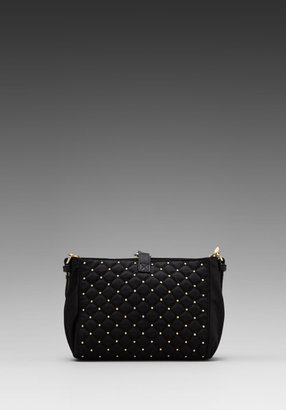 Juicy Couture Quilted & Studded Nylon Mini Kiki