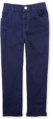 JCPenney Okie Dokie® Solid Twill Pants - Boys 12m-6y