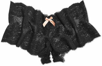 Hanky Panky After Midnight Peek-a-Boo Crotchless Brief 972701