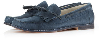 Topman 'Canvey' Suede Tassle Loafers