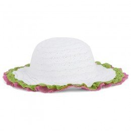 Pate De Sable Jou Jou Lace Trim Hat