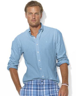 Polo Ralph Lauren Custom-Fit Long-Sleeved Chambray Shirt