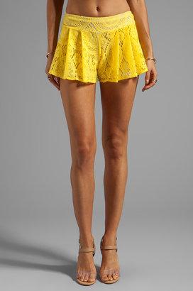 T-Bags LosAngeles Crochet Shorts