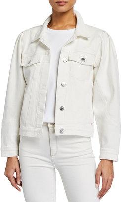 Tomorrow Kersee Puff-Sleeve Denim Jacket