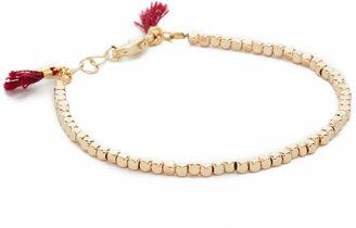 Shashi Nugget Clasp Bracelet $36 thestylecure.com