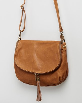 Bee Women's Brown Leather bags - Vasarino - Size One Size at The Iconic