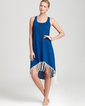 Lucky Brand Swimsuit Cover Up - Pure Spirit Fringe