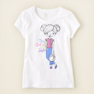 Children's Place Got style graphic tee