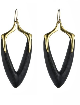 Alexis Bittar Durban Gold Arrowhead Earrings