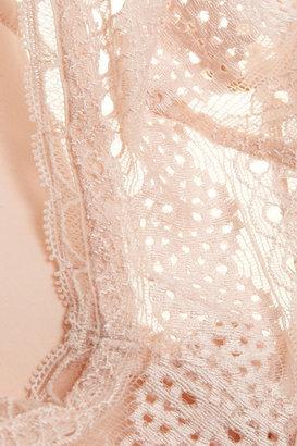 Stella McCartney Alina Playing stretch-lace soft-cup bra