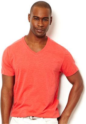 Nautica Shirt, Solid V-Neck T-Shirt