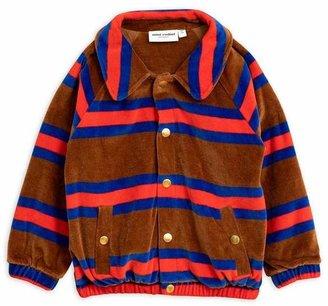Mini Rodini Velour Stripe Jacket 2-8 Years