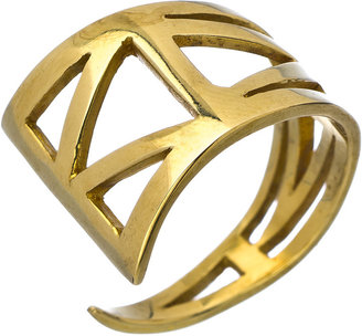 Karen London Brass Wild Thing Ring