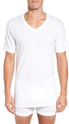 Nordstrom Mens Shop 4-Pack Regular Fit Supima® Cotton V-Neck T-Shirts