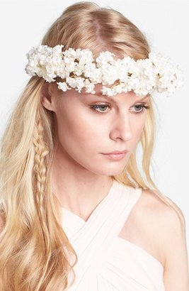 Whichgoose 'Buds of May' Flower Hair Wreath