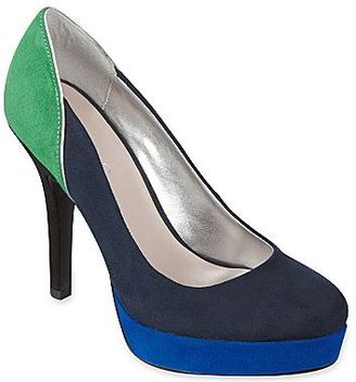 JCPenney 9 & Co.® Wiste Suede Platform Pumps