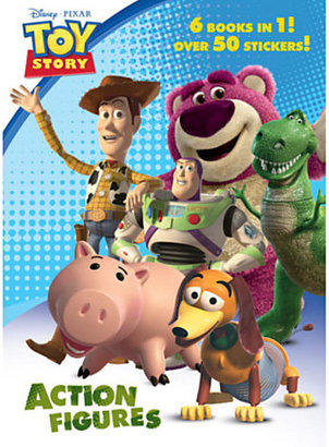 Disney Toy Story 3 Action Figures Jumbo Coloring Book