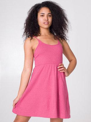 American Apparel Baby Rib Cross-Back Summer Dress