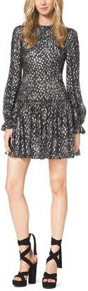 Michael Kors Bohemian Fil Coupe Dress