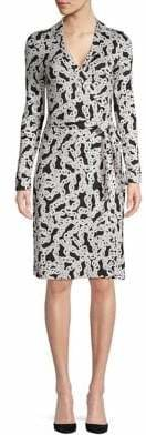 Diane von Furstenberg Jeanne Printed Wrap Dress