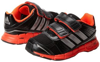 adidas Kids - adifast CF (Toddler) (Black/Tech Silver Metallic/Infared) - Footwear