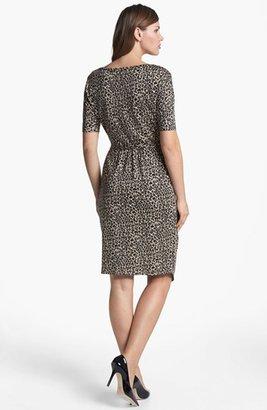 Max Mara 'Diritto' Jersey Dress