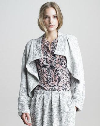 See by Chloe Asymmetric Wrap Jacket