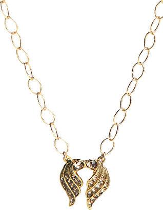Jessica Elliot Deco Wings Necklace in Vermeil