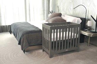 Bloom Alma Mini Urban Crib Frame - Frost Grey