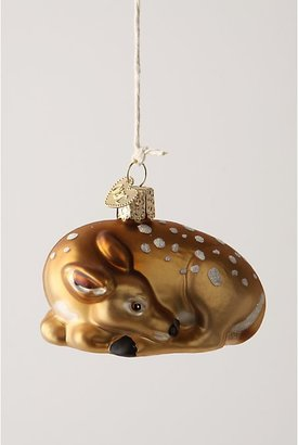 Anthropologie Fawn's Respite Ornament