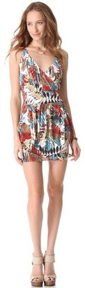 T-Bags Tbags los angeles Cinched Waist Mini Dress