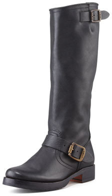Frye Veronica Slouchy Buckled Knee Boot