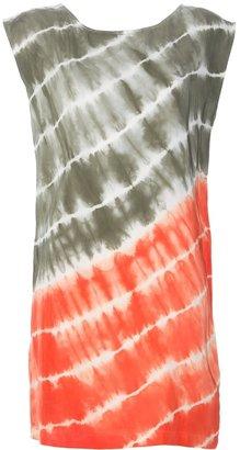 MICHAEL Michael Kors tie-dye silk dress