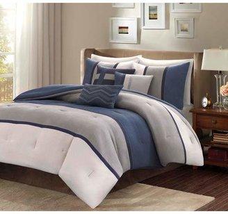 Nobrand No Brand Overland Microsuede Comforter Set 7pc Homa