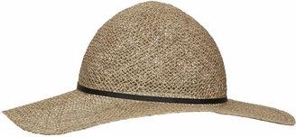 Topshop Sea grass floppy hat