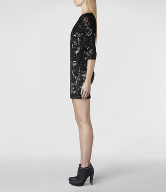 AllSaints Ivy Long Sleeved Dress