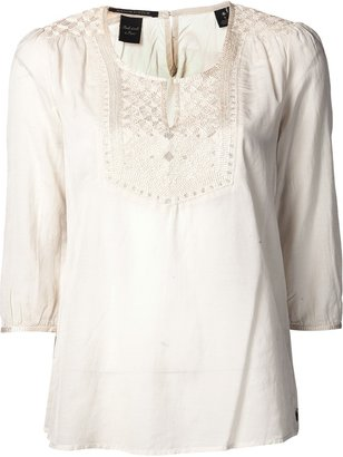 Maison Scotch v-neck top