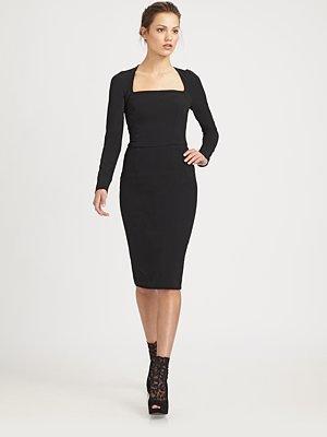 Dolce & Gabbana Square Neck Dress