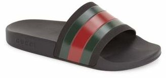 Gucci Pursuit Rubber Slide Sandal