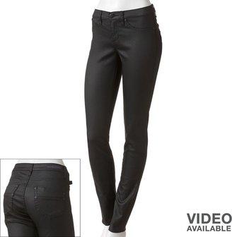 Rock & Republic kashmiere coated twill leggings