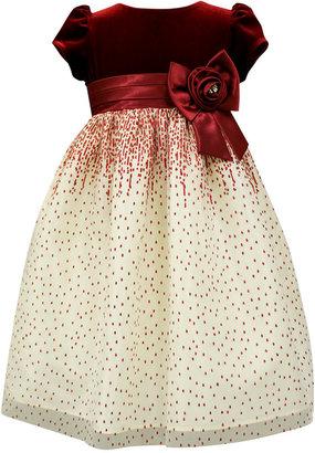 Jayne Copeland Velvet Holiday Dress, Big Girls (7-16) $78 thestylecure.com