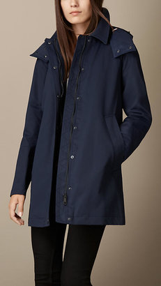 Burberry Showerproof Car Coat with Removable Warmer