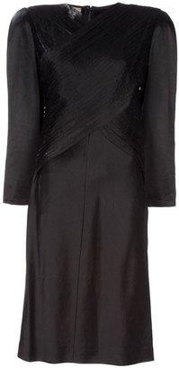 Krizia Poi... Vintage long-sleeved dress
