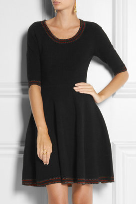 Prabal Gurung Flared wool dress