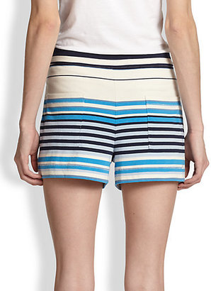 Marc by Marc Jacobs Paradise Striped Cotton Shorts