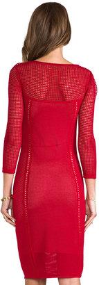 Catherine Malandrino Brooke Pointelle Dress