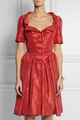 Vivienne Westwood Monday crinkled-taffeta dress